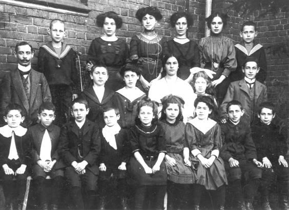 jüdische Schule 1912